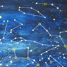 星柄の風呂敷